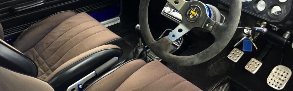 Purple 1973 Ford Escort MK1 Rally 8